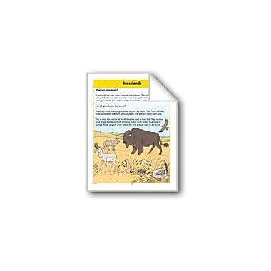 Evan-Moor Educational Publishers Habitats: Grasslands Computers Workbook, Grade 2 - Grade 3 [eBook]