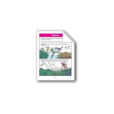 Evan-Moor Educational Publishers Habitats: Wetlands and Water Habitats Computers Workbook, Grade 2 - Grade 3 [eBook]
