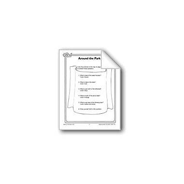 Evan-Moor Educational Publishers Following Map Directions Social Studies Workbook, Grade 1 - Grade 3 [eBook]
