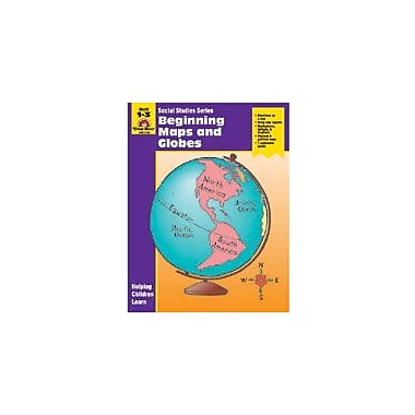 Evan-Moor Educational Publishers Social Studies Activity Books, Beginning Maps and Globes Workbook [Enhanced eBook]