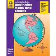 Evan-Moor Educational Publishers Social Studies Activity Books, Beginning Maps and Globes Workbook [Enhanced eBook]
