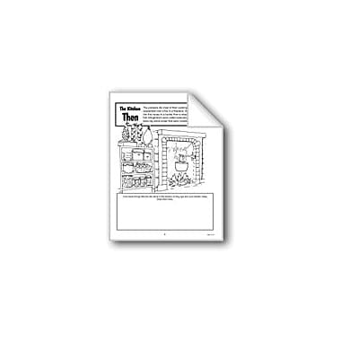 Evan-Moor Educational Publishers The Kitchen Then and Now Computers Workbook, Grade 1 - Grade 3 [eBook]