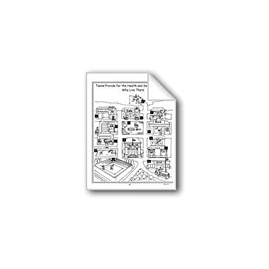 Evan-Moor Educational Publishers Towns Provide for the Health and Safety of the People Workbook, Grade 1 - Grade 3 [eBook]