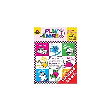 Evan-Moor Educational Publishers Play and Learn With Your One Year Old Other Workbook, Preschool [Enhanced eBook]