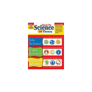 Evan-Moor Educational Publishers Hands-On Science-20 Themes Science Workbook, Grade 1 [Enhanced eBook]