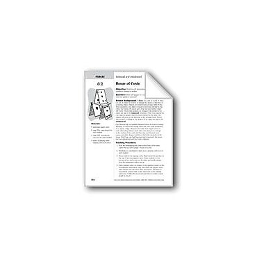 Evan-Moor Educational Publishers House of Cards Science Workbook, Grade 2 - Grade 4 [eBook]