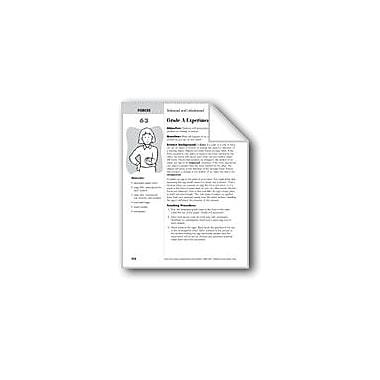 Evan-Moor Educational Publishers Grade A Experiment Science Workbook, Grade 2 - Grade 4 [eBook]