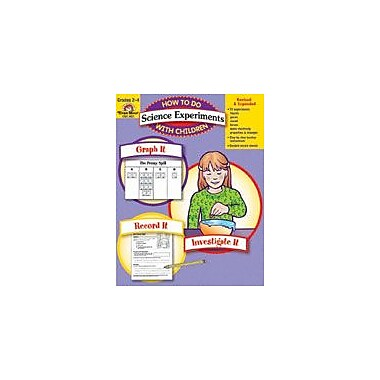 Evan-Moor Educational Publishers How to Do Science Experiments With Children-4 Science Workbook, Grade 2 [Enhanced eBook]