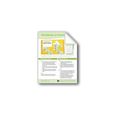 Evan-Moor Educational Publishers Vertebrate or Invertebrate? Science Workbook, Grade 3 - Grade 4 [eBook]