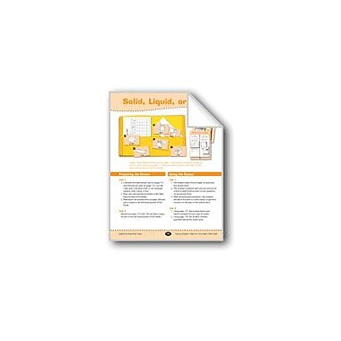 Evan-Moor Educational Publishers Solid, Liquid, or Gas? Science Workbook, Grade 3 - Grade 4 [eBook]