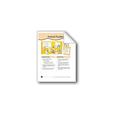 Evan-Moor Educational Publishers Animal Puzzles Science Workbook, Preschool - Kindergarten [eBook]