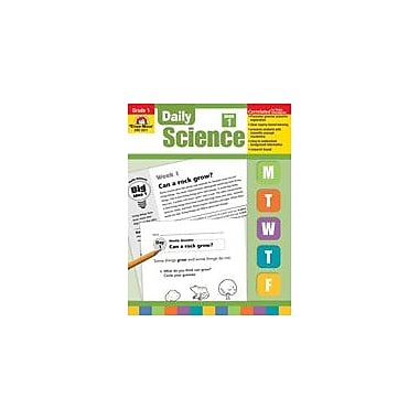 Evan-Moor Educational Publishers Daily Science: Grade 1 Science Workbook, Grade 1 [Enhanced eBook]