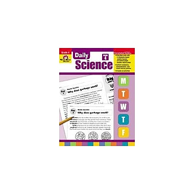Evan-Moor Educational Publishers Daily Science: Grade 4 Science Workbook, Grade 4 [Enhanced eBook]