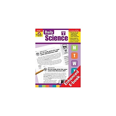 Evan-Moor Educational Publishers Daily Science: Grade 5 Science Workbook, Grade 5 [Enhanced eBook]