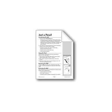 Evan-Moor Educational Publishers Just A Pencil/Milk Carton Problem Solving Workbook, Grade 1 - Grade 2 [eBook]