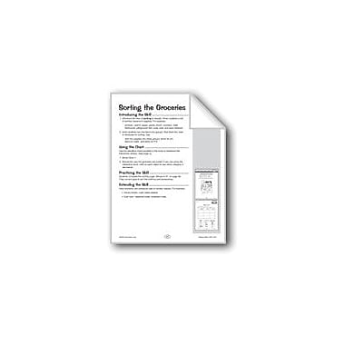 Evan-Moor Educational Publishers Sorting the Groceries Problem Solving Workbook, Grade 1 - Grade 2 [eBook]