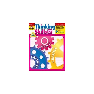 Evan-Moor Educational Publishers Thinking Skills-2 Problem Solving Workbook, Grade 1 - Grade 2 [Enhanced eBook]
