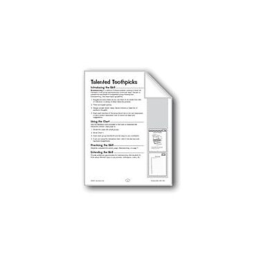 Evan-Moor Educational Publishers Talented Toothpicks Problem Solving Workbook, Grade 3 - Grade 4 [eBook]