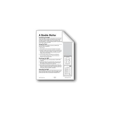Evan-Moor Educational Publishers A Sizable Matter Problem Solving Workbook, Grade 3 - Grade 4 [eBook]