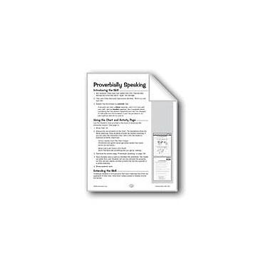 Evan-Moor Educational Publishers Proverbially Speaking (Evaluating) Problem Solving Workbook, Grade 5 - Grade 6 [eBook]