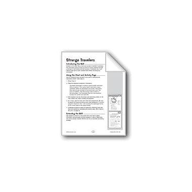 Evan-Moor Educational Publishers Strange Travelers (Deductive Reasoning) Problem Solving Workbook, Grade 5 - Grade 6 [eBook]