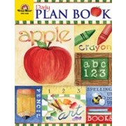 Evan-Moor Educational Publishers Daily Plan Book, School Days Teacher Planning Workbook, Kindergarten - Grade 6 [Enhanced eBook]