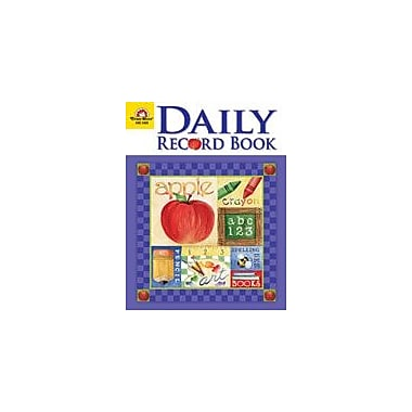 Evan-Moor Educational Publishers Daily Record Book, School Days Theme Workbook, Kindergarten - Grade 8 [Enhanced eBook]