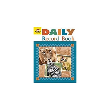 Evan-Moor Educational Publishers Safari Edition, Daily Record Book Workbook, Preschool - Grade 6 [Enhanced eBook]