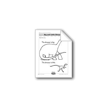 Evan-Moor Educational Publishers Big and Little Dinosaurs (Letter/Sound Association For 'D') Workbook [eBook]
