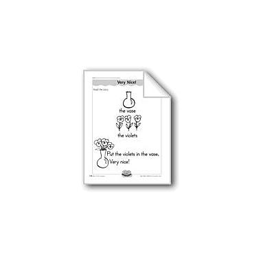 Evan-Moor Educational Publishers Very Nice! (Letter/Sound Association for 'V') Workbook, Kindergarten - Grade 1 [eBook]