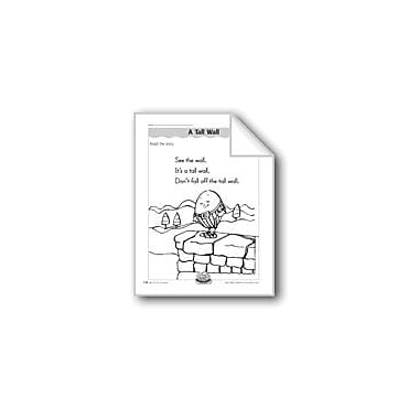 Evan-Moor Educational Publishers A Tall Wall (Letter/Sound Association For 'W') Workbook, Kindergarten - Grade 1 [eBook]