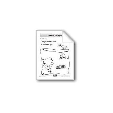 Evan-Moor Educational Publishers X Marks the Spot! (Letter/Sound Association for 'X') Workbook, Kindergarten - Grade 1 [eBook]