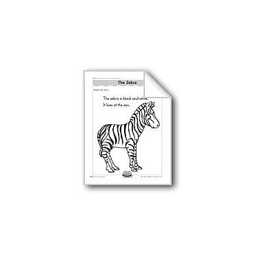 Evan-Moor Educational Publishers The Zebra (Letter/Sound Association for 'Z') Computers Workbook, Kindergarten - Grade 1 [eBook]