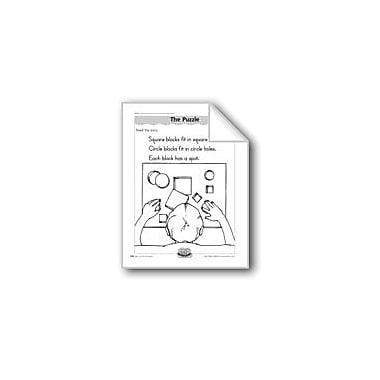 Evan-Moor Educational Publishers The Puzzle (Shapes) Computers Workbook, Kindergarten - Grade 1 [eBook]