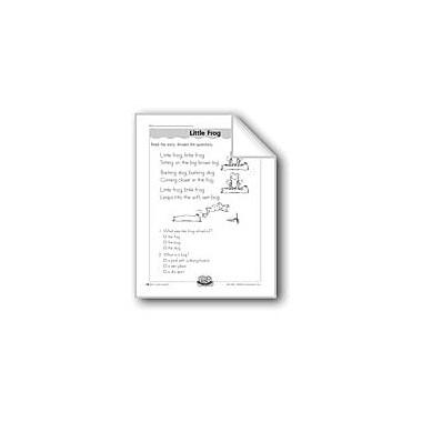 Evan-Moor Educational Publishers Little Frog ('-Og' Word Family) Computers Workbook, Grade 1 - Grade 2 [eBook]