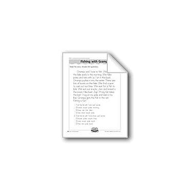 Evan-Moor Educational Publishers Fishing With Gramps (Singular/Plural) Computers Workbook, Grade 1 - Grade 2 [eBook]