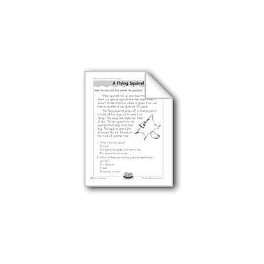 Evan-Moor Educational Publishers A Flying Squirrel (David Wiesner/Literature) Computers Workbook, Grade 1 - Grade 2 [eBook]