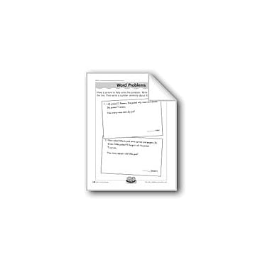 Evan-Moor Educational Publishers Missing Addend Word Problems Computers Workbook, Grade 1 - Grade 2 [eBook]