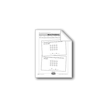 Evan-Moor Educational Publishers Grid Word Problems (Addition/Number Sentences) Computers Workbook, Grade 1 - Grade 2 [eBook]