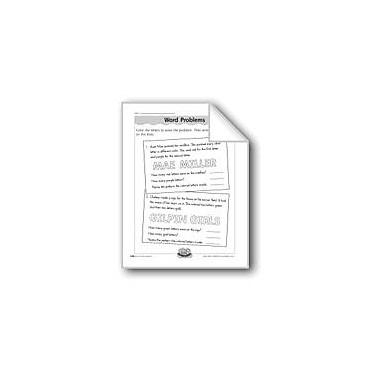 Evan-Moor Educational Publishers Word Problems (Patterns) Computers Workbook, Grade 1 - Grade 2 [eBook]