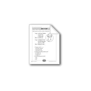 Evan-Moor Educational Publishers Just A List (Antonyms) Computers Workbook, Grade 2 - Grade 3 [eBook]