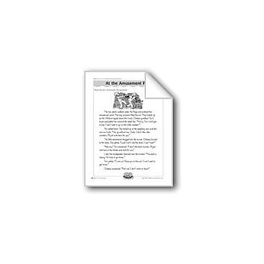 Evan-Moor Educational Publishers At the Amusement Park (Antonyms) Computers Workbook, Grade 3 - Grade 4 [eBook]