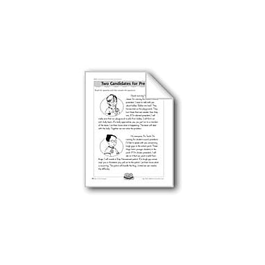 Evan-Moor Educational Publishers Two Candidates for President (Synonyms) Computers Workbook, Grade 3 - Grade 4 [eBook]