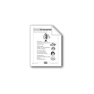 Evan-Moor Educational Publishers The Dreaded Un- (The Prefix 'Un-') Computers Workbook, Grade 3 - Grade 4 [eBook]