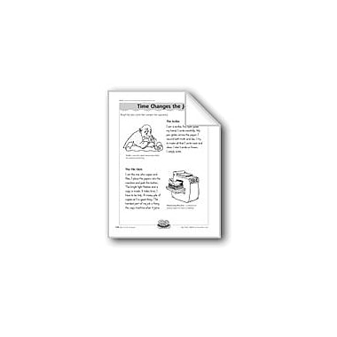 Evan-Moor Educational Publishers Time Changes the Job (Long Vowel Sound 'I') Computers Workbook, Grade 3 - Grade 4 [eBook]