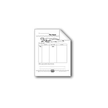 Evan-Moor Educational Publishers The Newt (Super Sentence Organizer) Computers Workbook, Grade 1 [eBook]