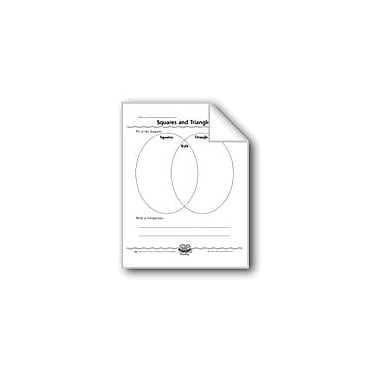 Evan-Moor Educational Publishers Squares and Triangles (Venn Diagram) Computers Workbook, Grade 1 [eBook]
