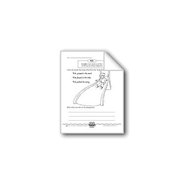Evan-Moor Educational Publishers John's List (Past Tense Verbs) Computers Workbook, Grade 1 [eBook]