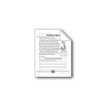 Evan-Moor Educational Publishers Traveling In Space (Topic Sentences/Details) Computers Workbook, Grade 2 - Grade 4 [eBook]