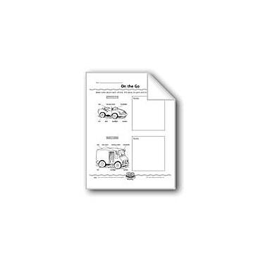 Evan-Moor Educational Publishers On the Go (Writing Comparisons) Computers Workbook, Grade 2 - Grade 4 [eBook]